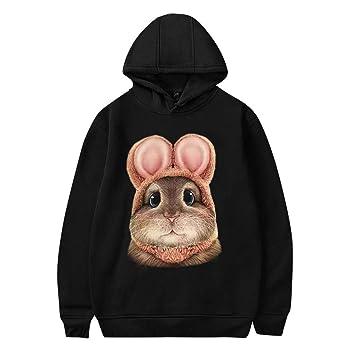 Hoodies for Women Pullover,Womens Long Sleeve Solid Color Pullover Fleece Hoodie Sweatshirt Tops