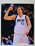 Dirk Nowitzki Signed Autographed Glossy 11x14 Photo - Dallas Mavericks