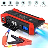 Car Jump Starter,Portable Jump Pack, Auto Battery Booster, 12V Car Jumper with Dual