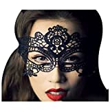 Rbenxia Sexy Lace Mask Halloween Masquerade Party Costume Cat Mask for...