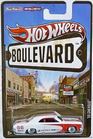 Hot Wheels 2012 Boulevard Series '66 Chevelle Scale Die-cast Vehicle (Chevelle 66)