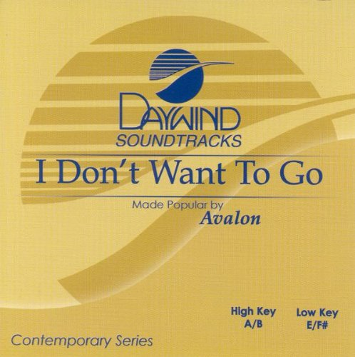 Download I Don't Want To Go [Accompaniment/Performance Track] pdf