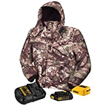 DEWALT DCHJ062C1-L 20V/12V Max Camo Heated Jacket Kit, Large