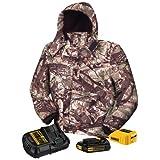 DEWALT DCHJ062C1-L 20V/12V MAX Camo Heated Jacket Kit, Large