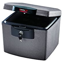 SentrySafe H4300SG Fire-Safe Waterproof Security File, 0.7 Cubic Feet (Silver Gray)