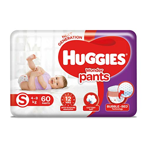 Huggies Wonder Pants Diapers Small Size 60 Pieces