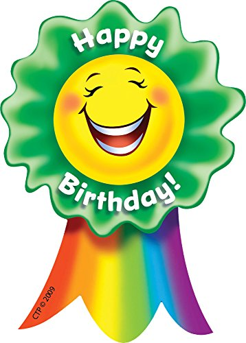 Creative Teaching Press Happy Birthday! Smiling Ribbon Rewards