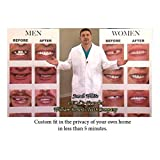 MEDIUM SIZE VENEERS INSTANT SMILE BEAUTIFUL PERFECT TEETH -ONE SIZE FITS MOST