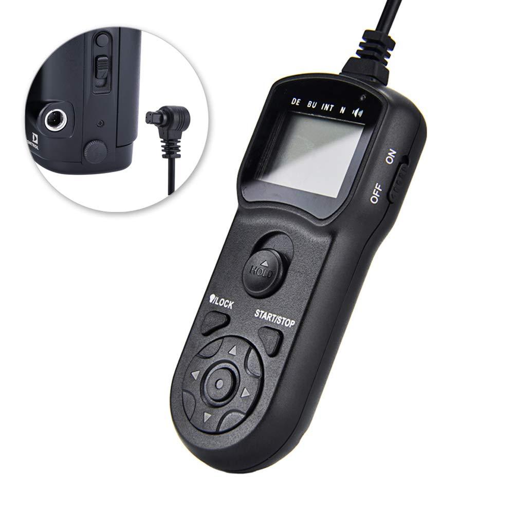 Timer Remote Shutter JJC Timer Shutter Release Remote Control Cord for Nikon D7500 D7200 D7100 D7000 D5500 D5300 D5200 D5100 D5000 D3300 D3200 D3100 D750 D610 D600 D90 P7800 etc Replaces Nikon MC-DC2