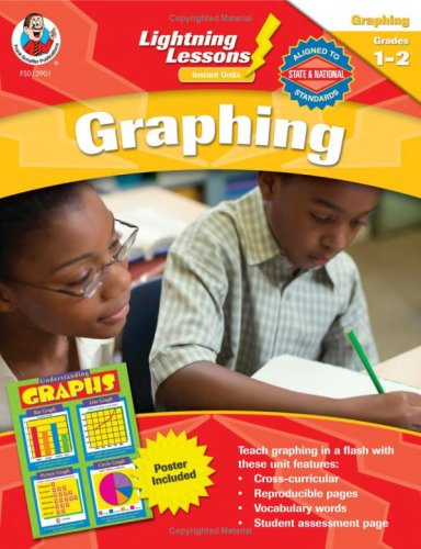 Lightning Lessons Instant Units: Graphing, Grades (Frank Schaffer Graphing)
