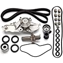 Timing Belt Valve Cover Gasket Water Pump Kit, ECCPP for Honda Acura 3.2L 3.5L SOHC 24 Valve
