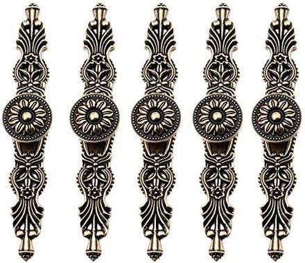 Poignee De Porte Ou Bouton De Meubles Vintage En Bronze De Style