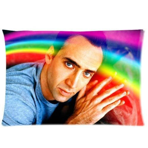 Custom Nicolas Cage Pillowcase Standard Size 20X30 Design Pillow Case Cover Two Sides Number-11