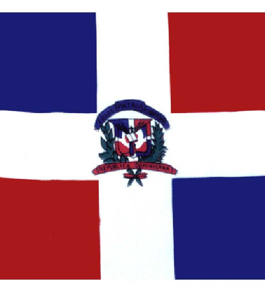 Flag Bandana - Bandana With Flag Print (Dominican Republic)