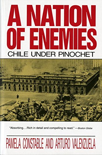 A Nation Of Enemies  Chile Under Pinochet  Norton Paperback