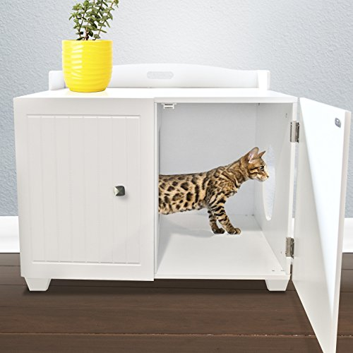 End Table And Cat Litter Box Cover
