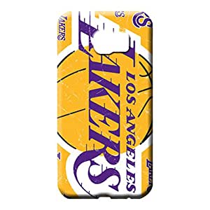 samsung galaxy s6 case cover Designed For phone Cases cell phone carrying covers los angeles lakers nba basketball