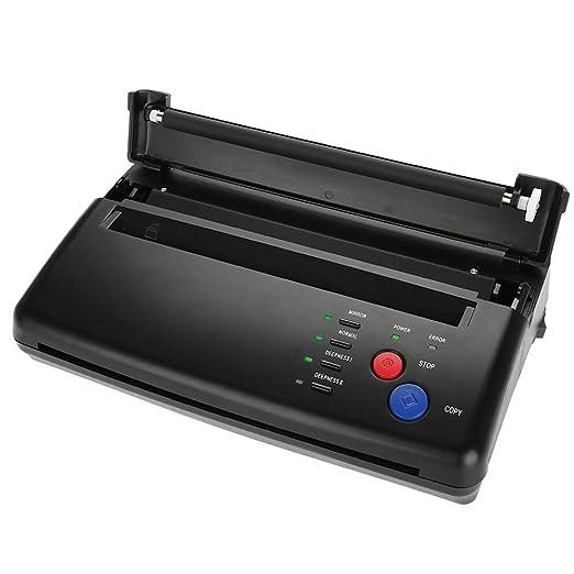 BYCDD Portátil Impresora Termica Tattoo, Termocopiadora ...