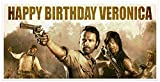 The Walking Dead Birthday Banner Personalized Party Backdrop Decoration
