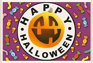 1/4 Sheet ~ Halloween Candies ~ Edible Image Cake/Cupcake Topper!!!