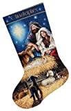 Dimensions Needlecrafts Counted Cross Stitch, Holy Night Stocking