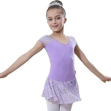 974333d10e7c2 バレエレオタード 子供 新体操 キッズ 半袖 子供用バレエ レオタード ダンスウェア ダンス衣装 女の子