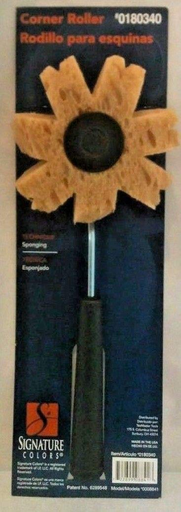 TexMaster Tools Sponging Faux Finish Paint Corner Roller
