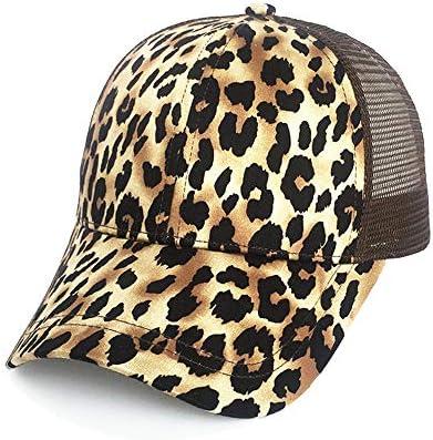 zhuzhuwen 2019 señoras Sombrero Estampado Leopardo Europeo y ...