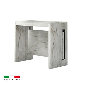 3 Extensible Grazia Intégrées Table Console Madeinitaly Allonges OikXuPTZ
