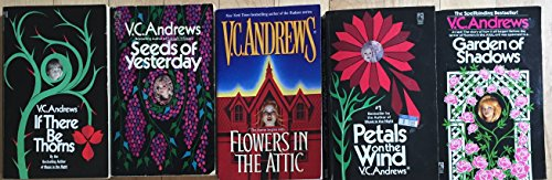 Dollanganger Series Complete Flowers in the Attic Set of 5 Novels by V.C. Andrews
