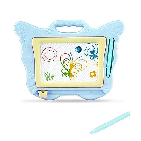 Hamkaw Pizarra de Dibujo magnética para niños, Bloc de ...