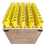 Fireworks Mortar Rack Fan 50 Shot With 1.75' Fiberglass Tubes Included