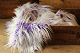 Faux Mongolian Fur photography prop, Newborn prop, Basket Stuffer, Layering Blanket, Rug (Small, 18''x20'', Frosted Lavender)