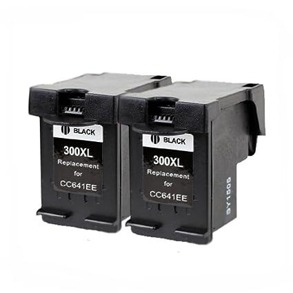 caidi 2 negro para cartuchos de tinta HP 300 XL 300 X L Compatible ...