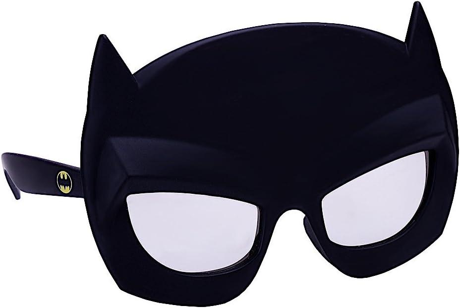 Costume Sunglasses Lil' Characters Batman Mask Sun-Staches Party Favors UV400