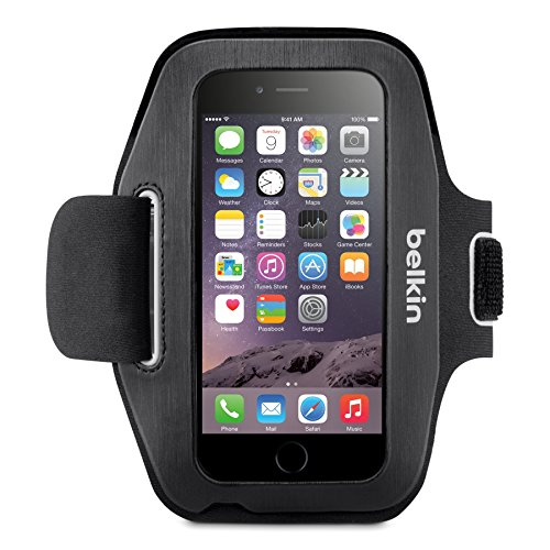 - Belkin Sport-Fit Armband for iPhone 6 / 6S (Black/Overcast)