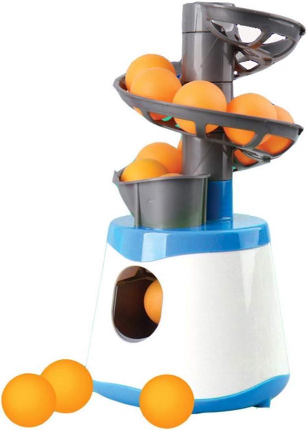 MAOJIE Lanzador de máquina de Pelota de Tenis de Mesa portátil para niños Robot Ping-Pong Robot Padre-Hijo remitente Lanzamiento Servir Equipo Deportivo