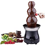 3-tier Chocolate Fountain Electric Fondue Stainless Steel Party Cater 6lb