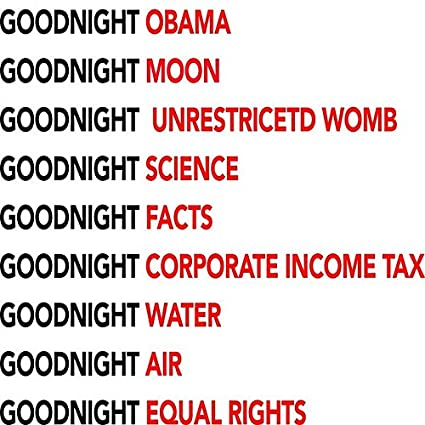 Amazon.com: JRLP Frames Goodnight Obama Goodnight Moon Goodnight ...