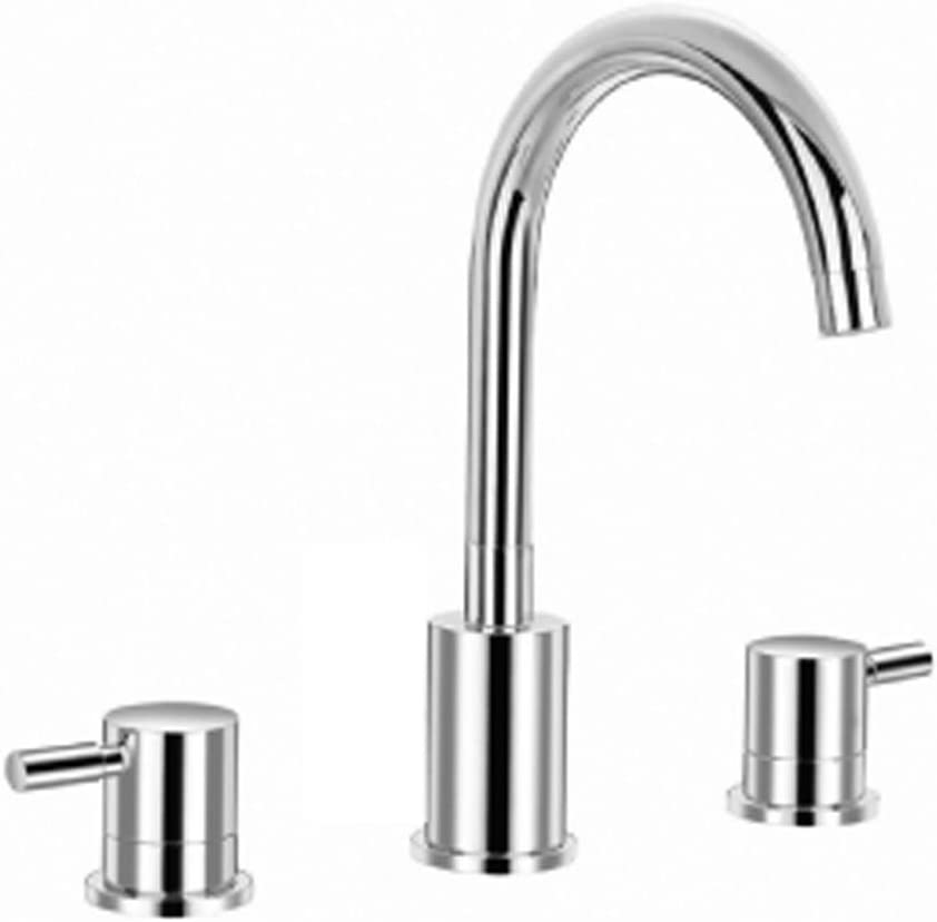 Isenberg 100.2000CP Serie 100 Three Hole 8 Widespread Faucet, 100.2000, Polished Chrome