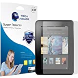 "Kindle Fire HD Screen Protector, Tech Armor Anti-Glare/Anti-Fingerprint Amazon Kindle Fire HD 7"" (2013) Screen Protectors [3-Pack]"