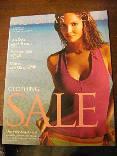 victorias secret catalog, spring sale 2001