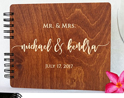 The 8 best wedding guest books rustic