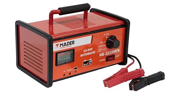 Cargador de Batería/Battery Charger 15A 6V 12V: Amazon.es ...