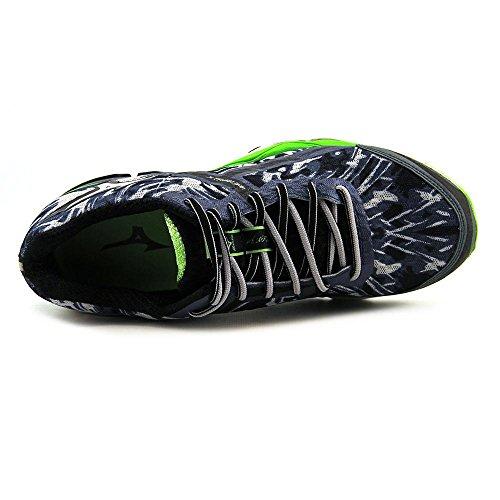 Creazione Di Onde Donna Mizuno 15 Ardesia Scarpa Da Corsa / Verde / Carbone
