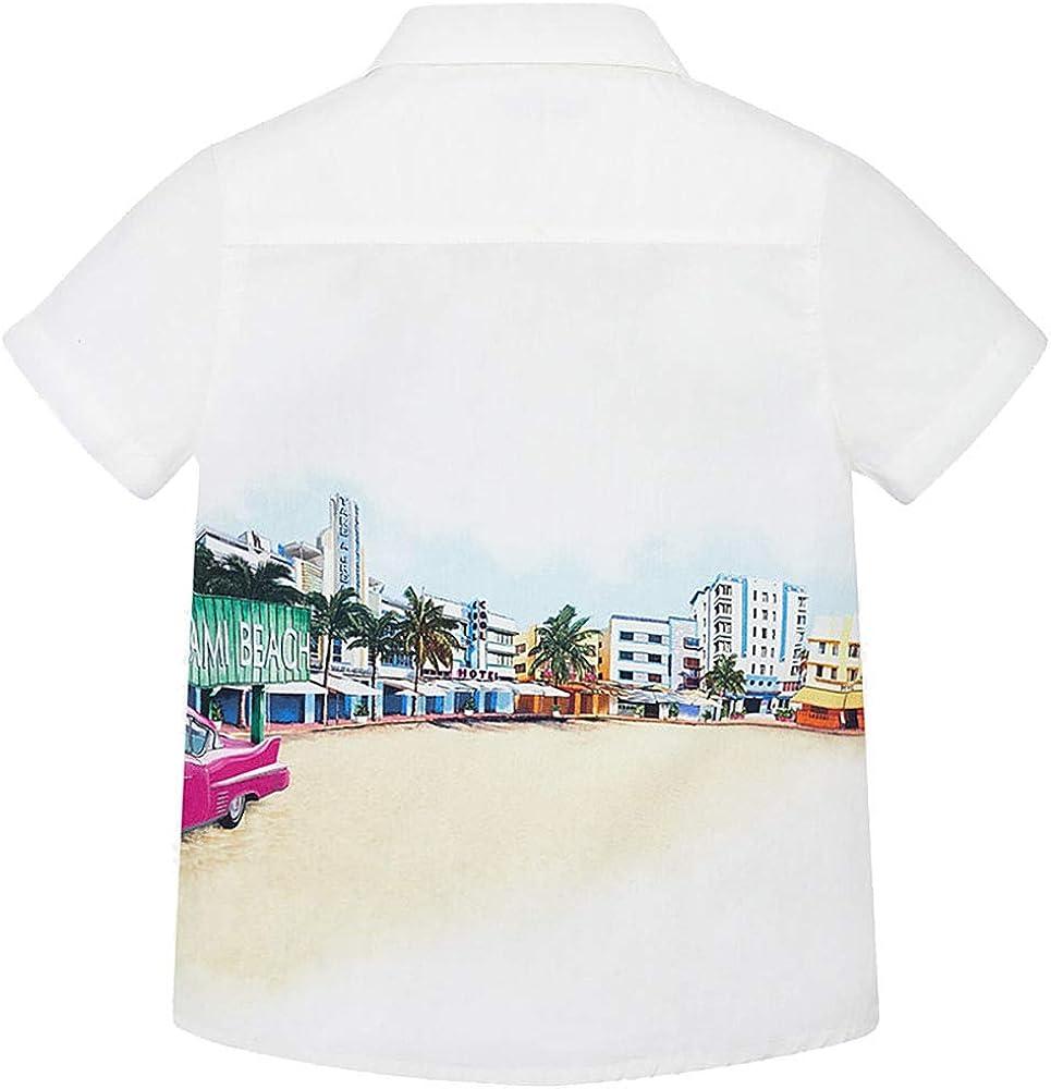 Mayoral Beach Summer Vacation Short Sleeve Shirt 51SDE3O2BzQL