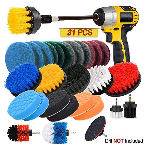 JUSONEY Drill Brush Scrub