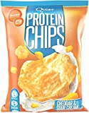 Quest Nutrition Protein Chips, Cheddar & Sour Cream, 21g Protein, Baked, 1.2oz Bag, 8 Count