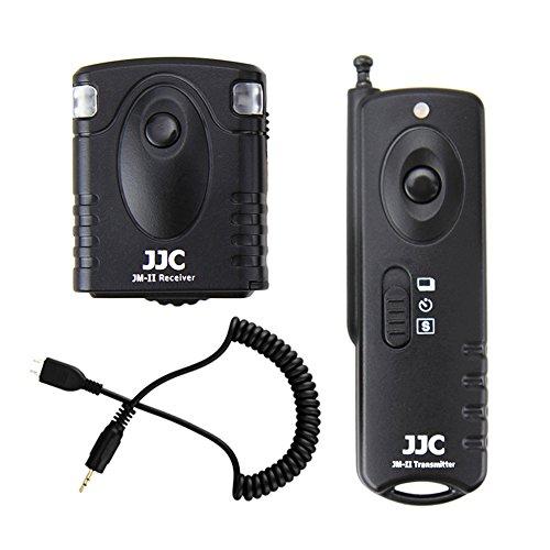 Wireless Shutter Remote Control JJC Remote Shutter Release Controller for Samsung NX2000 NX1100 NX1000 NX500 NX300N X300M NX210 NX200 NX30 NX20 NX1 NX MINI NXF1 Galaxy NX EK-GN120 EX2F (Samsung Nx1000 Accessories)