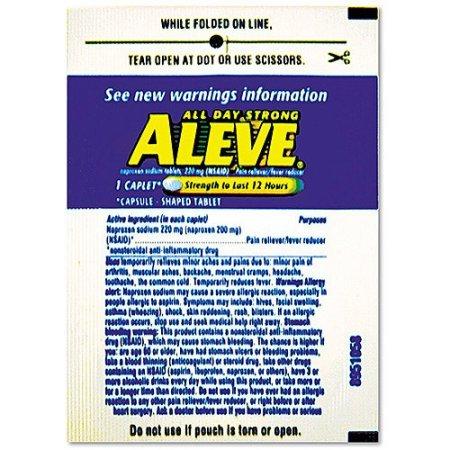 Fever Reducer Caplet Refill Packs 220mg 30 count (220 Caplets)